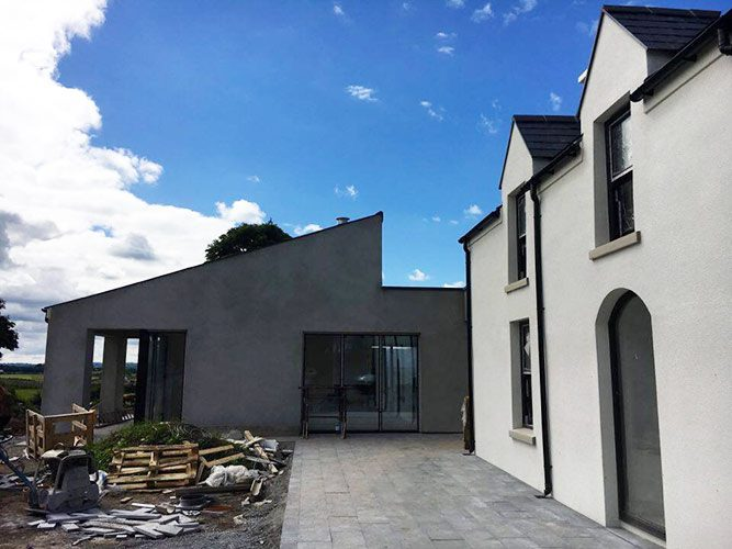 Irish modern architectural design