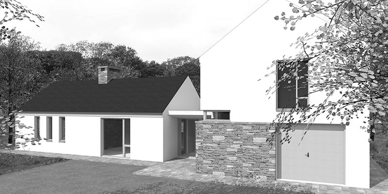 Irish contemporary house design